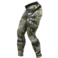 Лосины Better Bodies Camo Long Tight, Green Camo