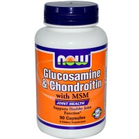 Glucosamine & Chondroitin with MSM (90капс)